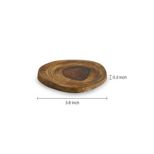 Load image into Gallery viewer, 'Circles of Wood' Log Handcrafted Coasters (Set Of 6)