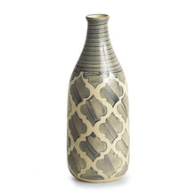 Load image into Gallery viewer, Moroccan Handpainted Decorative Vase in Ceramic (10 Inch)