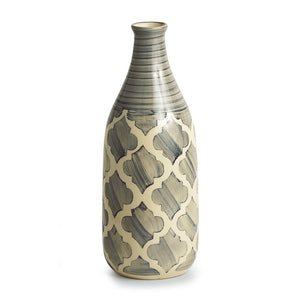 Moroccan Handpainted Decorative Vase in Ceramic (10 Inch)