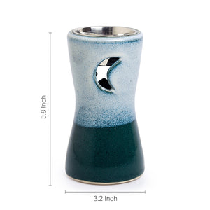 Ceramic Breezy Star Aroma Diffuser (Studio Pottery)