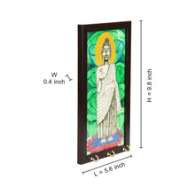 Load image into Gallery viewer, Lord Buddha Canvas Handpainted Key Holder