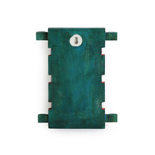 Load image into Gallery viewer, Turquoise 'Baby Fish' Key Holder Handmade In Wood