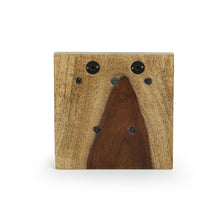 Load image into Gallery viewer, Cane Handwoven Key Holder In Sheesham Wood & Iron (5 Hooks)