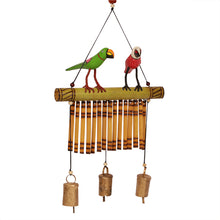 Load image into Gallery viewer, Bird Collection Wooden Hand Painted Decorative Wind Chime