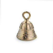 Load image into Gallery viewer, 'Tinkling Melody' Handmade Brass Decorative Pooja Bell In Dhokra Art