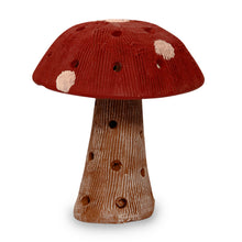 Load image into Gallery viewer, Mushroom Terracotta Handpainted In Red