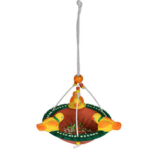 Load image into Gallery viewer, Terracotta Handpainted Bird Feeder For Garden