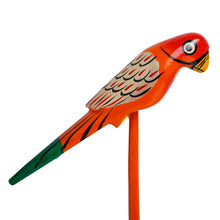 Load image into Gallery viewer, Handmade & Hand-Painted Bird Planter Sticks In Wood