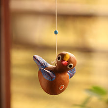 Load image into Gallery viewer, 'Chirping Cuckoo' Handmade Garden Decorative Hanging In Terracotta