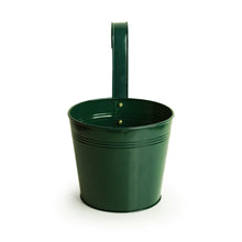 Load image into Gallery viewer, 'Emerald Green' Hand-Painted Metal Railing Cum Table Planter Pot