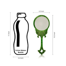 "Load image into Gallery viewer, Wooden Engraved Handheld Mirror From ""Royal Queen Collection """