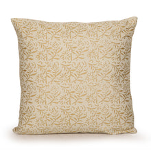 Load image into Gallery viewer, Bliss Wooden Handblocked Cushion Cover In Soft Cotton