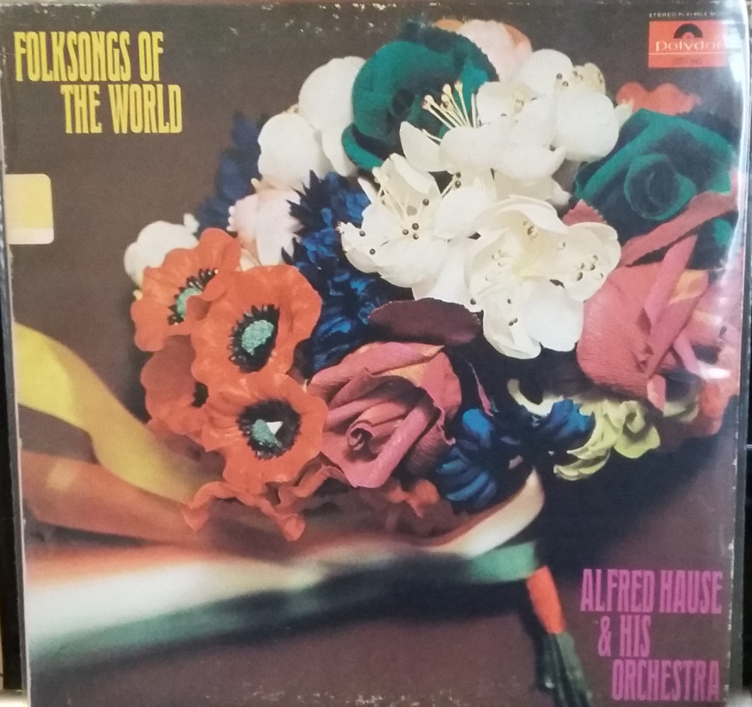 Alfred Hause & His Orchestra / Folksongs Of The World - LP (used)