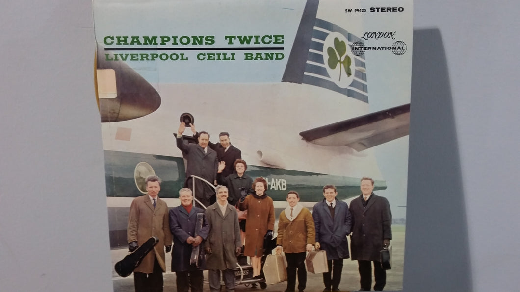 Liverpool Ceili Band ‎/ Champions Twice - LP (used)