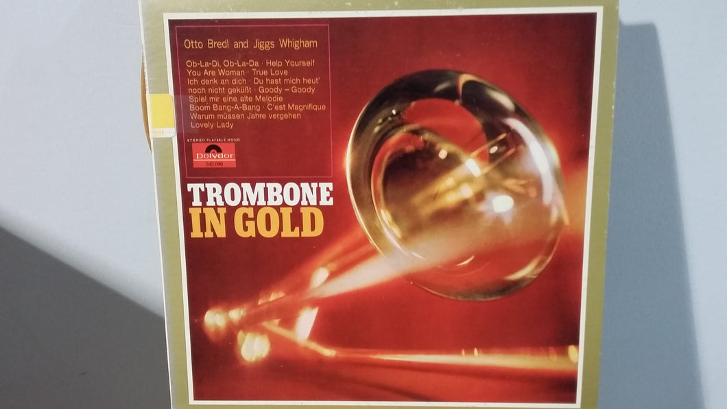 Otto Bredl And Jiggs Whigham ‎/ Trombone In Gold - LP (used)