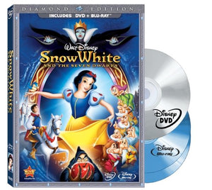 Snow White and the Seven Dwarfs (Three-Disc DVD/Blu-ray Combo + BD Live) (Bilingual) [Blu-ray]