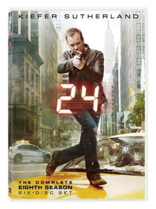24: The Complete Eighth Season [Import] [DVD]