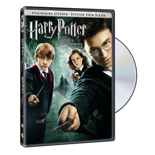 Harry Potter and the Order of the Phoenix (Bilingual Full Screen Edition) [DVD]