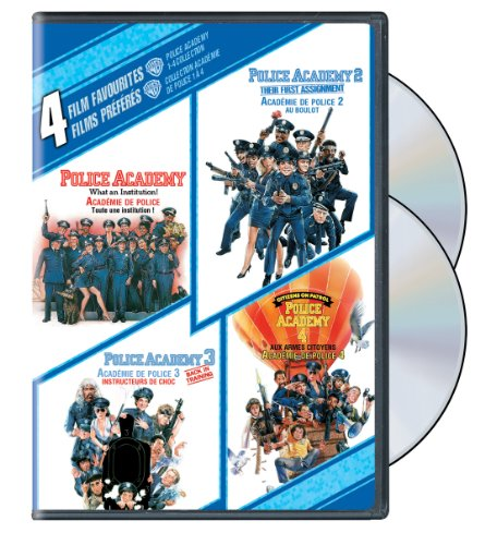 4 Film Favorites: Police Academy 1-4 Collection - DVD (Used)