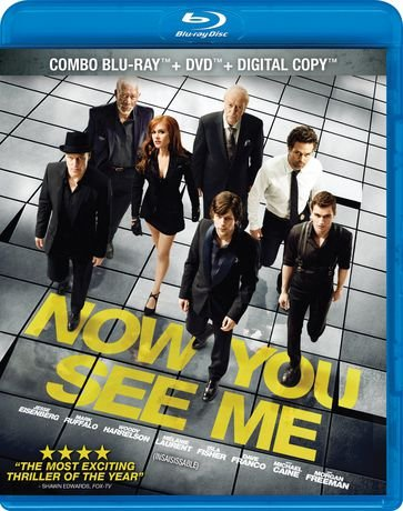 Now You See Me (2013, Canadian) [Blu-ray]