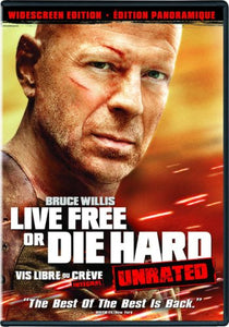 Live Free or Die Hard (Unrated Widescreen Edition) - DVD (Used)