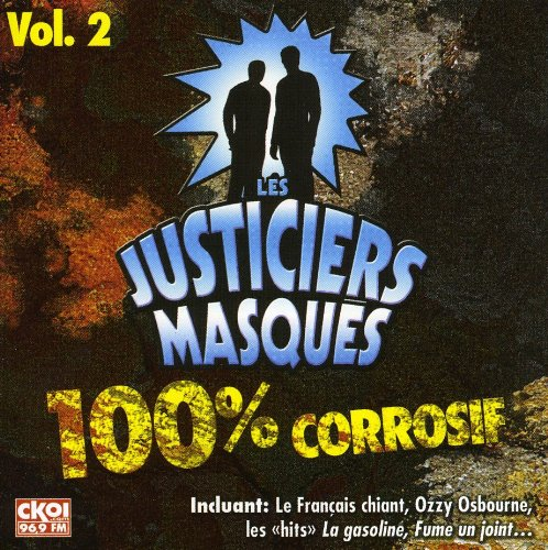 V2 Les Justiciers Masques (Frn) [Audio CD] Justiciers Masques