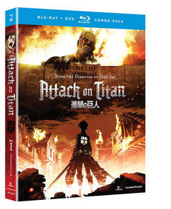 Attack On Titan, Part 1 (Standard Edition) - Blu-ray/DVD
