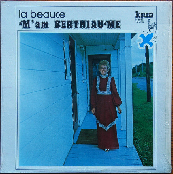 M'am Berthiaume ‎/ La Beauce - LP (used)