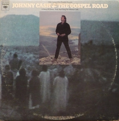 Johnny Cash ‎/ The Gospel Road: A Story Of Jesus - LP Used