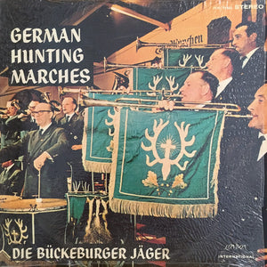 Die Bückeburger Jäger ‎/ German Hunting Marches - LP (used)