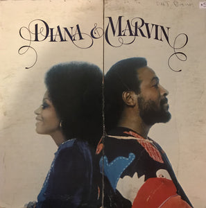 Diana Ross & Marvin Gaye ‎/ Diana & Marvin - LP Used