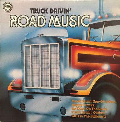 Various ‎/ Truck Drivin Road Music - LP Used