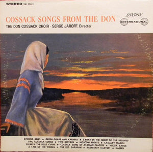 The Don Cossack Choir* ‎/ Cossack Songs From The Don - LP (used)