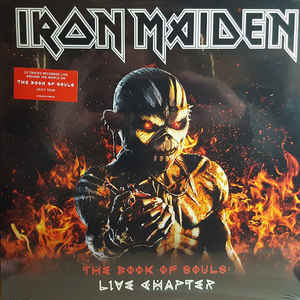 Iron Maiden / The Book Of Souls : Live Chapter - 3LP