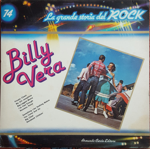 La Grande Storia Del Rock / Billy Vera - LP (used)