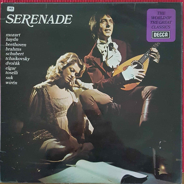Various / The World Of The Great Classics: Serenade - LP (used)
