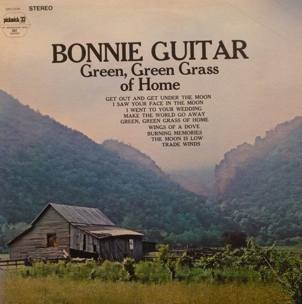 Bonnie Guitar ‎/ Green, Green Grass Of Home - LP (used)