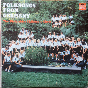 The Bielefelder Children's Choir* ‎/ Folksongs From Germany - LP (used)