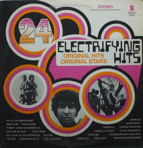 Various ‎/ 24 Electrifying Hits - LP Used