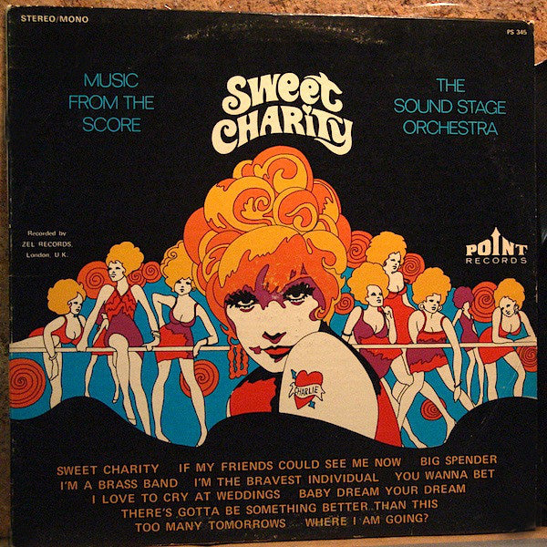 The Sound Stage Orchestra* ‎/ Music From The Score / Sweet Charity - LP (used)
