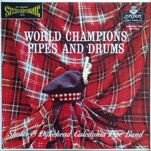 Shotts & Dykehead Caledonia Pipes And Drums - LP (used)