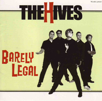 The Hives ‎/ Barely Legal - CD