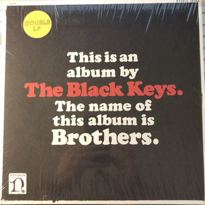 The Black Keys ‎/ Brothers - 2LP