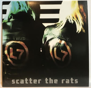 L7 ‎/ Scatter the Rats - LP COKE BOTTLE CLEAR