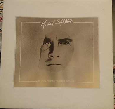 Michel Sardou ‎/ Si L'on Revient Moins Riches - LP Used