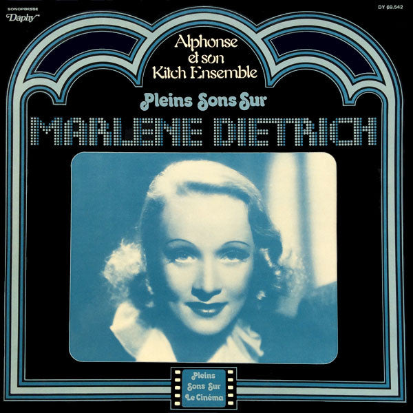 Alphonse Et Son Kitch Ensemble ‎/ Pleins Sons Sur Marlene Dietrich - LP Used