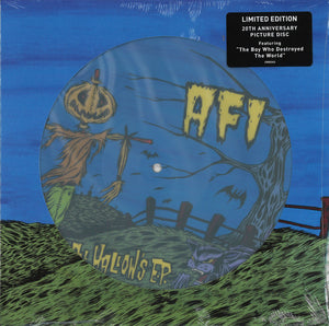 "AFI ‎/ All Hallow's E.P. - LP 10"" PICTURE DISC"