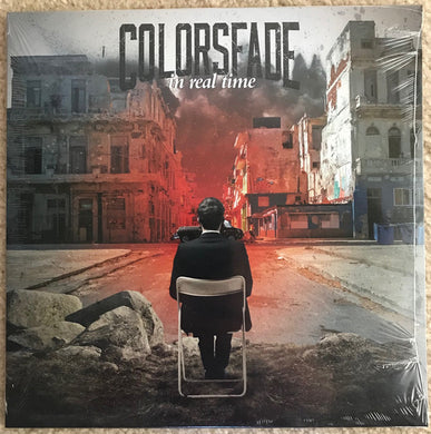 Colorsfade ‎/ In Real Time - LP BLACK ICE