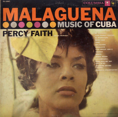 Percy Faith And His Orchestra* ‎/ Malaguena (Music Of Cuba) - LP Used