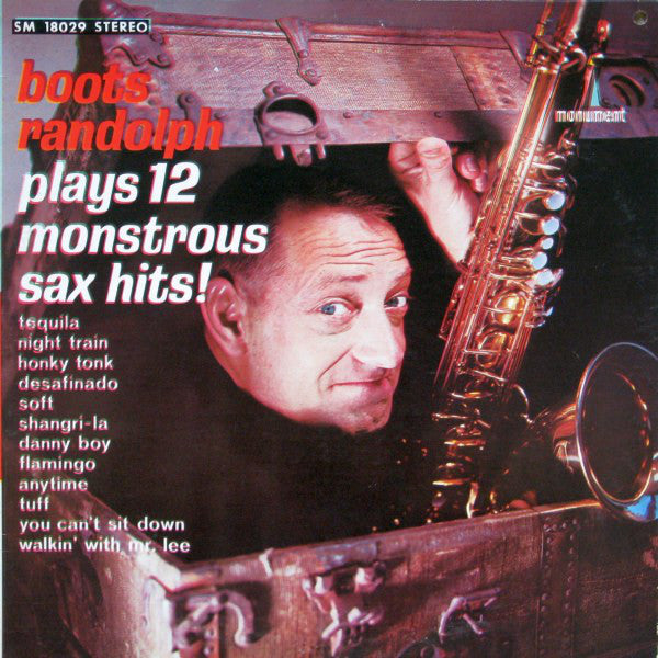 Boots Randolph ‎/ Plays 12 Monstrous Sax Hits - LP (used)